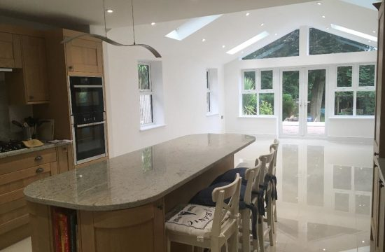 Architecture Surrey kitchen extension Camberley